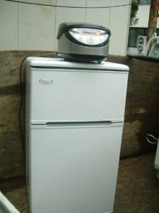 盛岡市にて冷蔵庫、炊飯器の回収処分の写真