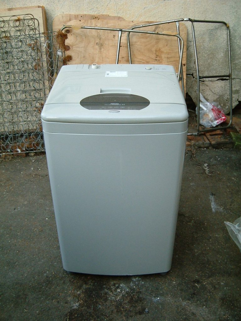 たった10分で故障洗濯機を楽々引き取り!面倒な手続きも不要だった、とお喜び頂けました!