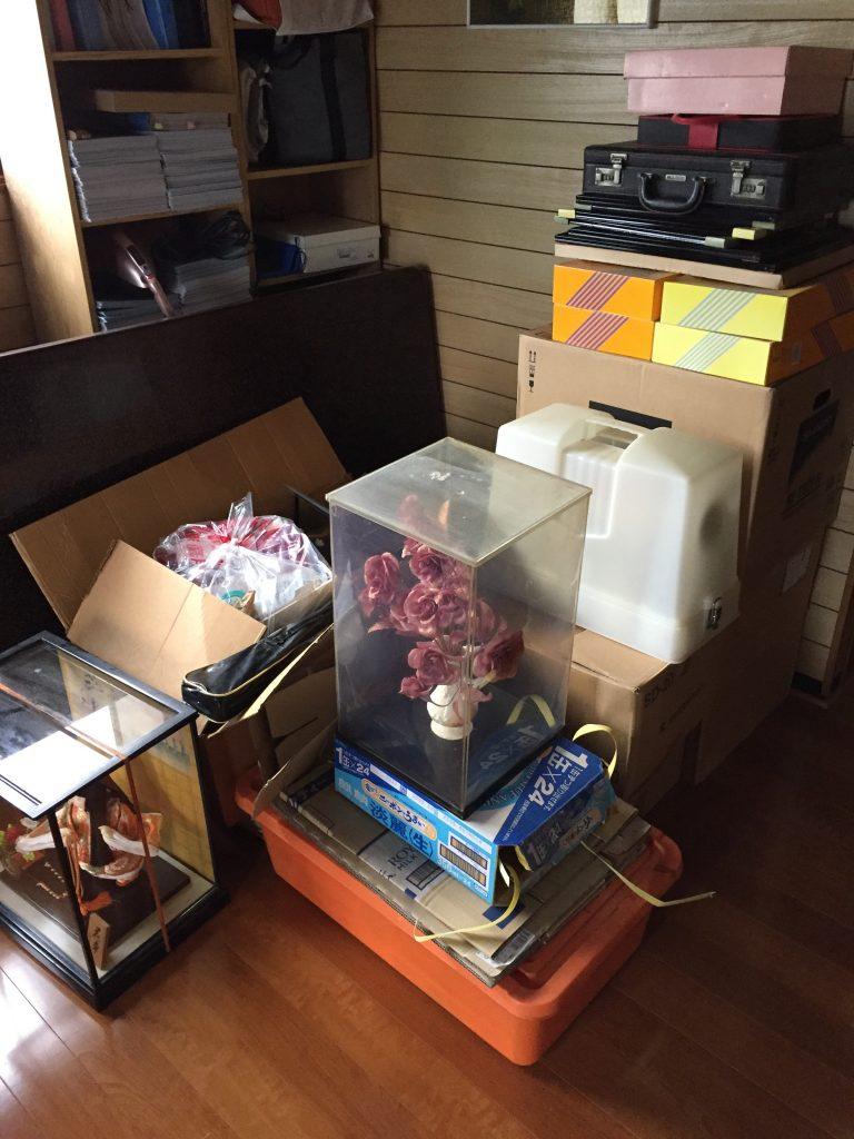 奥州市にて不用品回収(電子レンジ、電気ストーブ、こたつ、学習机)のご依頼 お客様の声