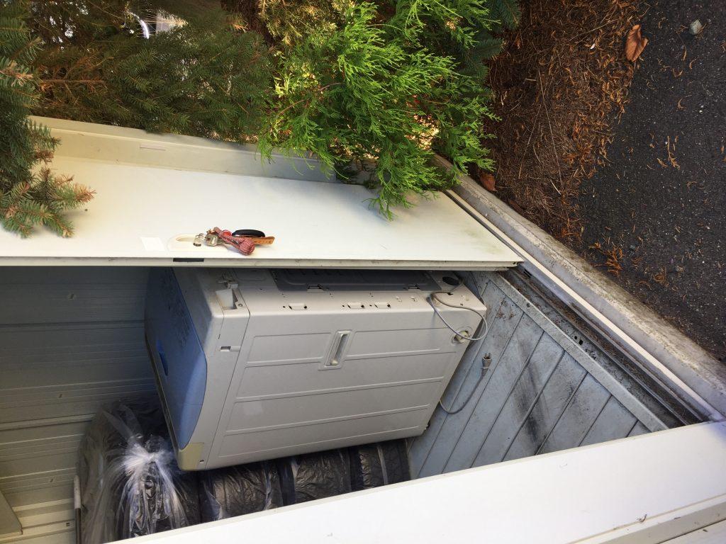 【北上市本通り】洗濯機とソファーの回収☆追加料金なしでの回収に安心していただけ、希望日での対応にご満足いただけました!