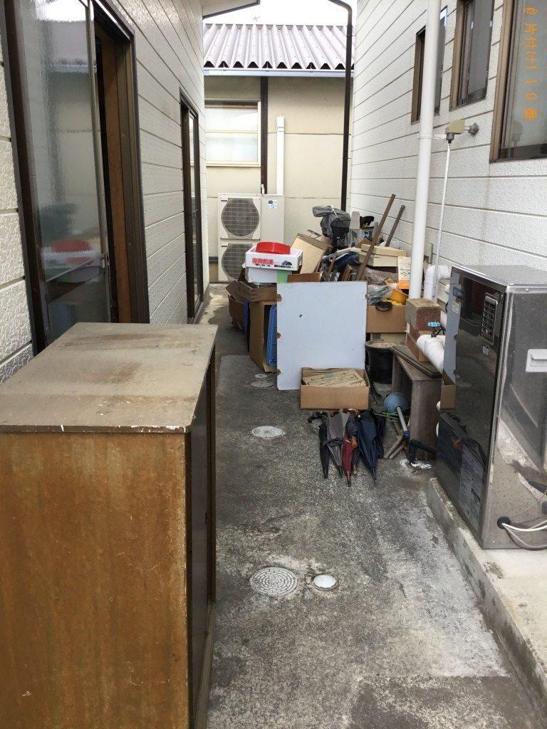 【一関市】本棚、整理タンス等大量の不用品処分ご依頼 お客様の声