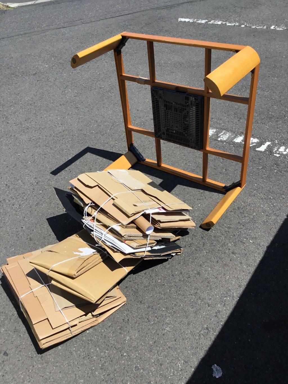 【一関市】こたつ、ダンボールの出張不用品回収・処分ご依頼 お客様の声