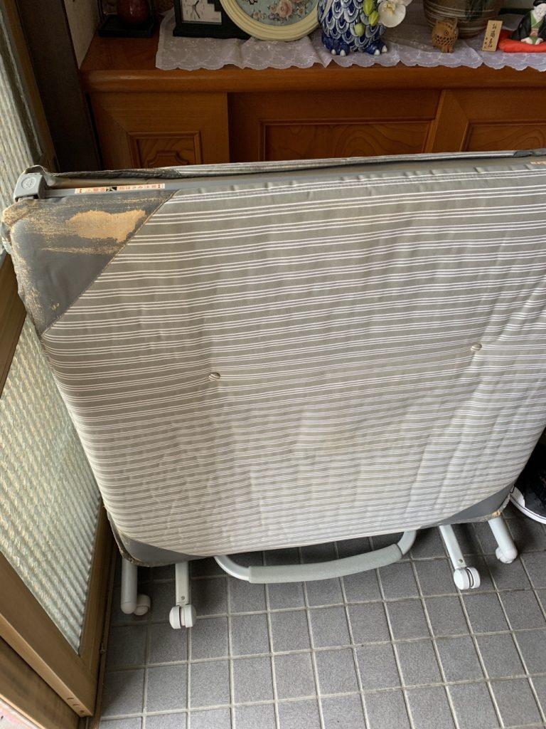 【北上市鍛冶町】折り畳みベッドの出張回収・処分ご依頼 お客様の声