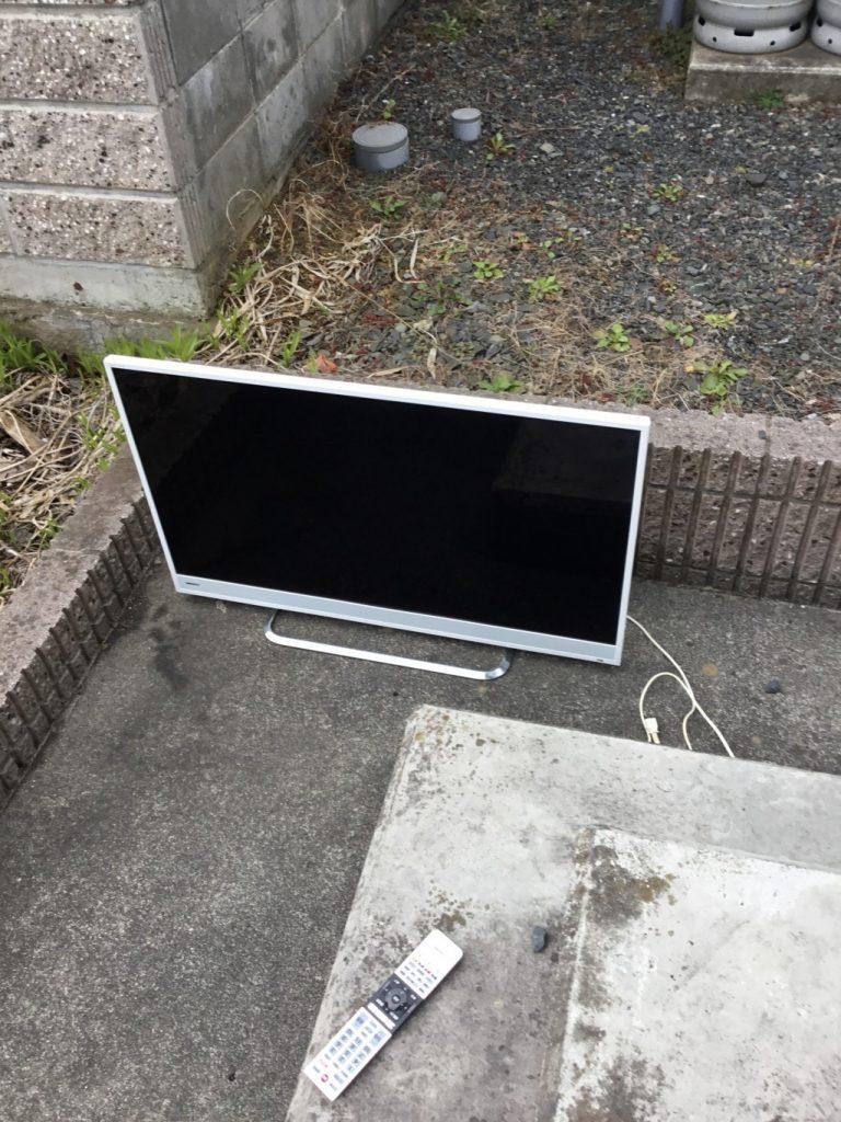 【一関市】液晶テレビの出張不用品回収・処分ご依頼 お客様の声