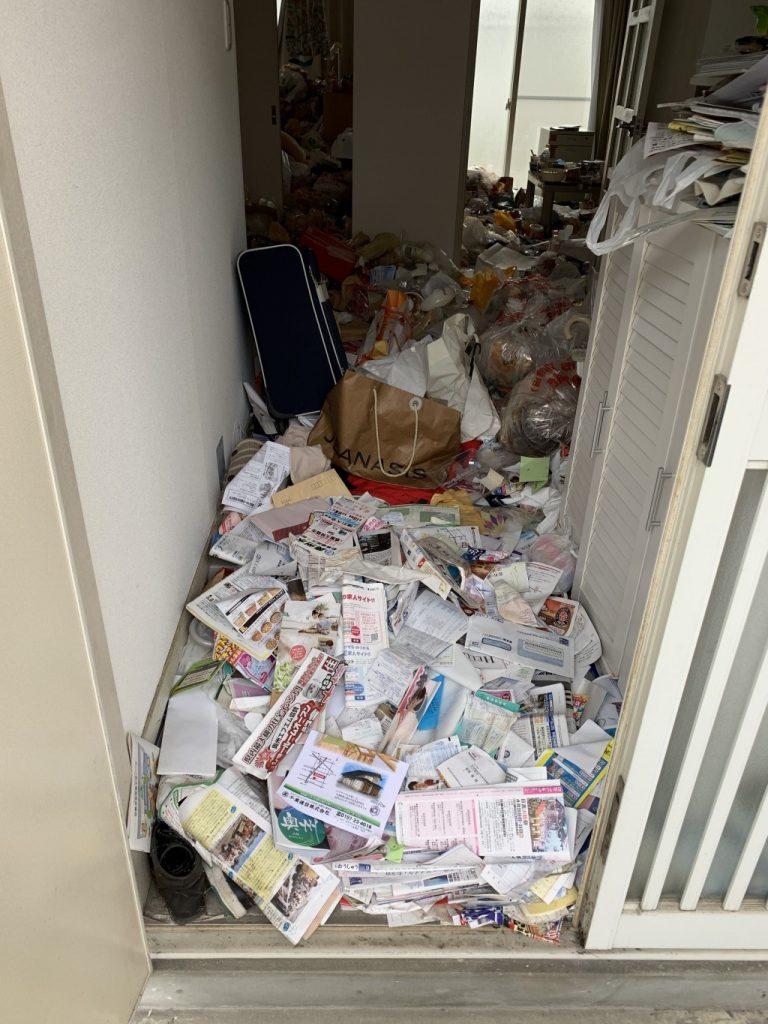 【奥州市】大量のゴミの出張不用品回収・処分ご依頼