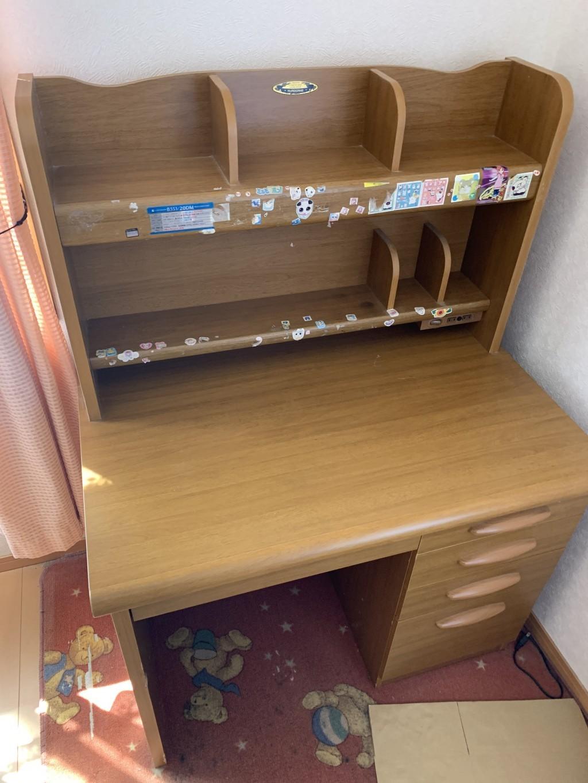 【西和賀町】学習机など軽トラ一台分の不用品回収ご依頼 お客様の声