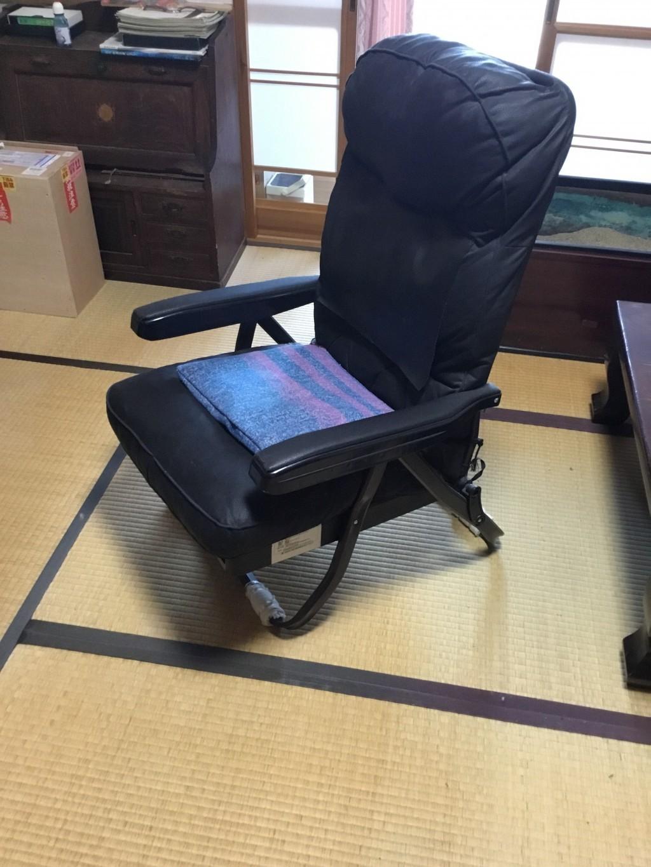 【一関市】テレビ、テレビ台、座椅子の不用品回収処分 お客様の声