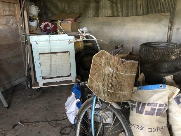 【西磐井郡平泉町】2トントラック1台分の不用品回収 お客様の声