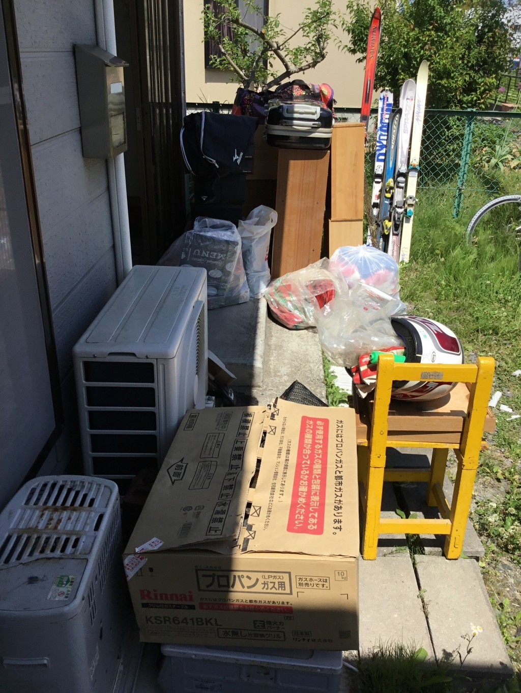 【一関市】2トントラック2台分程度の出張不用品回収・処分ご依頼