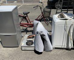 【北上市若宮町】冷蔵庫、洗濯機等の回収 お客様の声