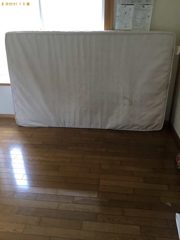 【一関市】セミダブルマットレスの出張不用品回収・処分ご依頼