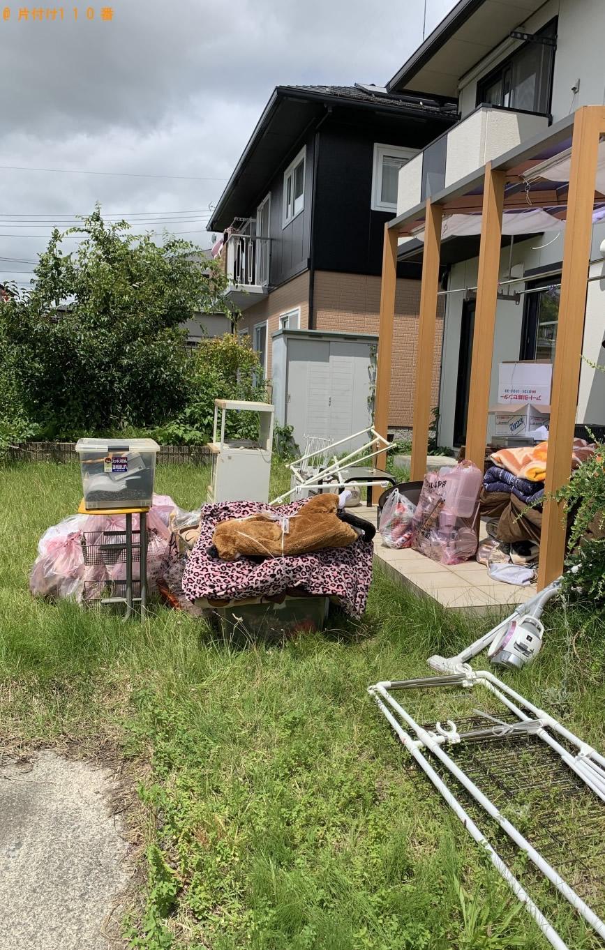 【胆沢郡金ケ崎町】軽トラック1台程度の出張不用品回収・処分ご依頼