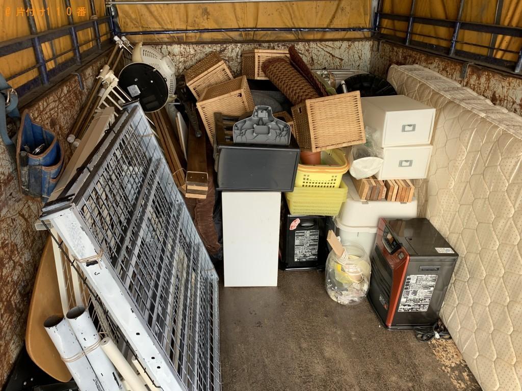 【北上市若宮町】洗濯機、パイプベッド、石油ストーブ等の回収・処分 お客様の声