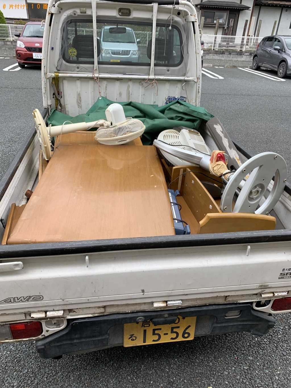 【田野畑村】学習机などの出張不用品回収・処分ご依頼