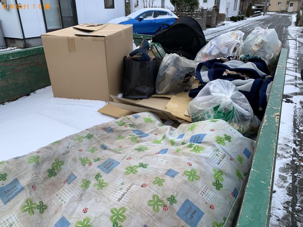 【花巻市】衣類、家庭ごみなどの回収・処分 お客様の声