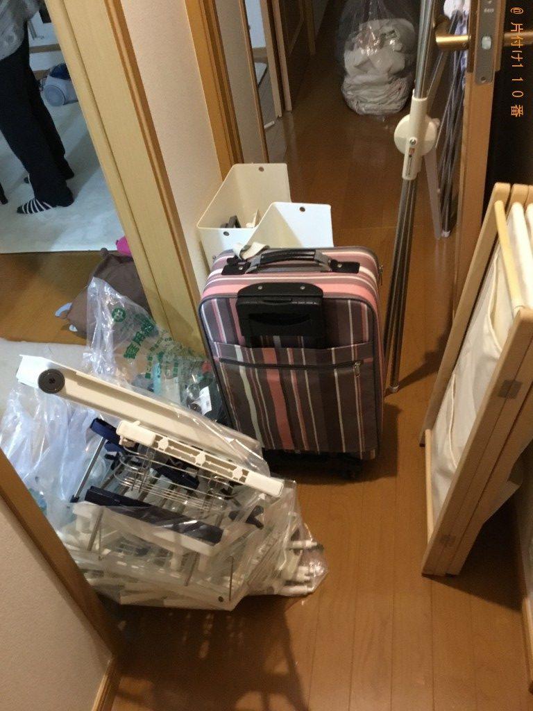 【君津市】キャリーケース、衣類、回転いす等の回収・処分ご依頼