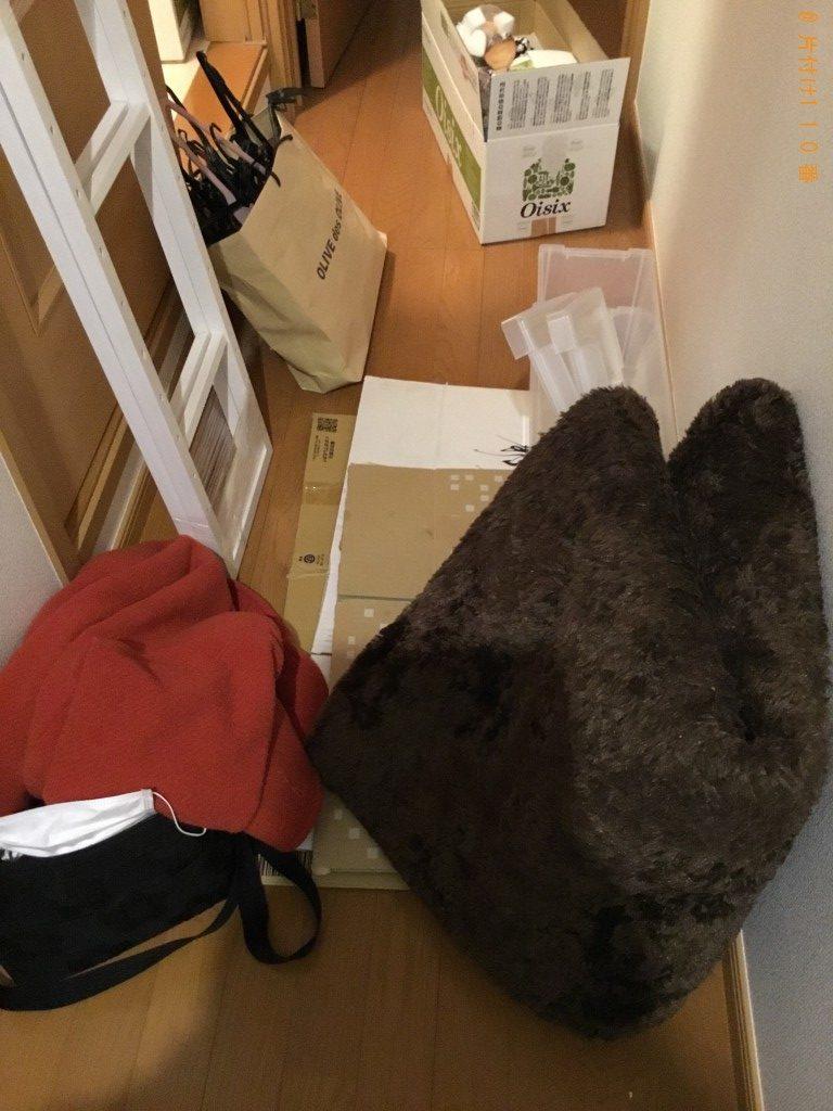 【一関市】キャリーケース、衣類、回転いす等の回収・処分ご依頼