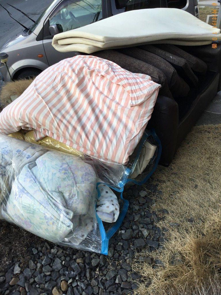【君津市】ソファー、布団等の回収・処分ご依頼 お客様の声