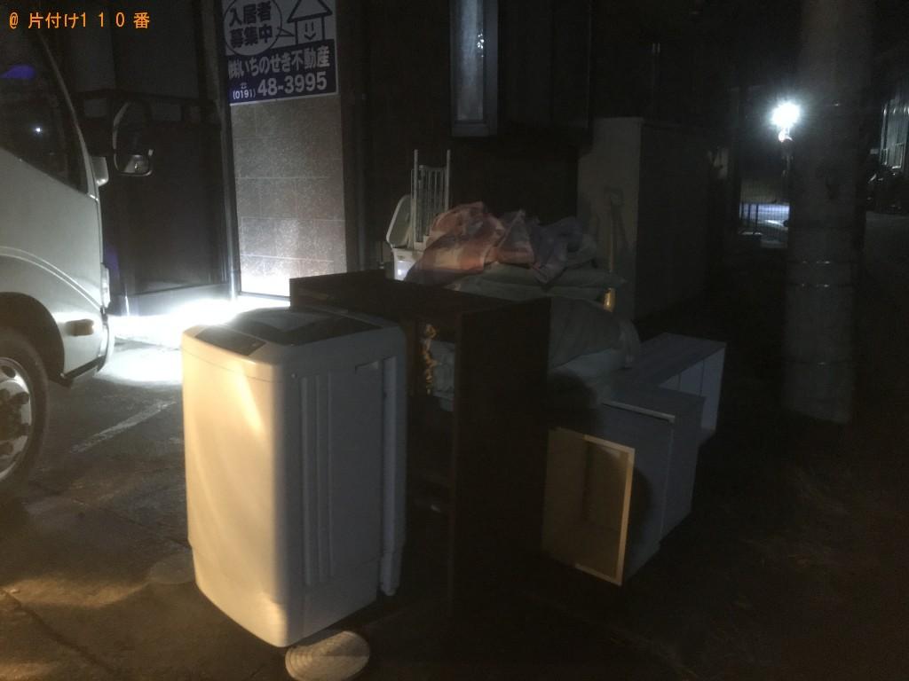 【印西市】冷蔵庫、洗濯機、食器棚等の回収・処分ご依頼 お客様の声