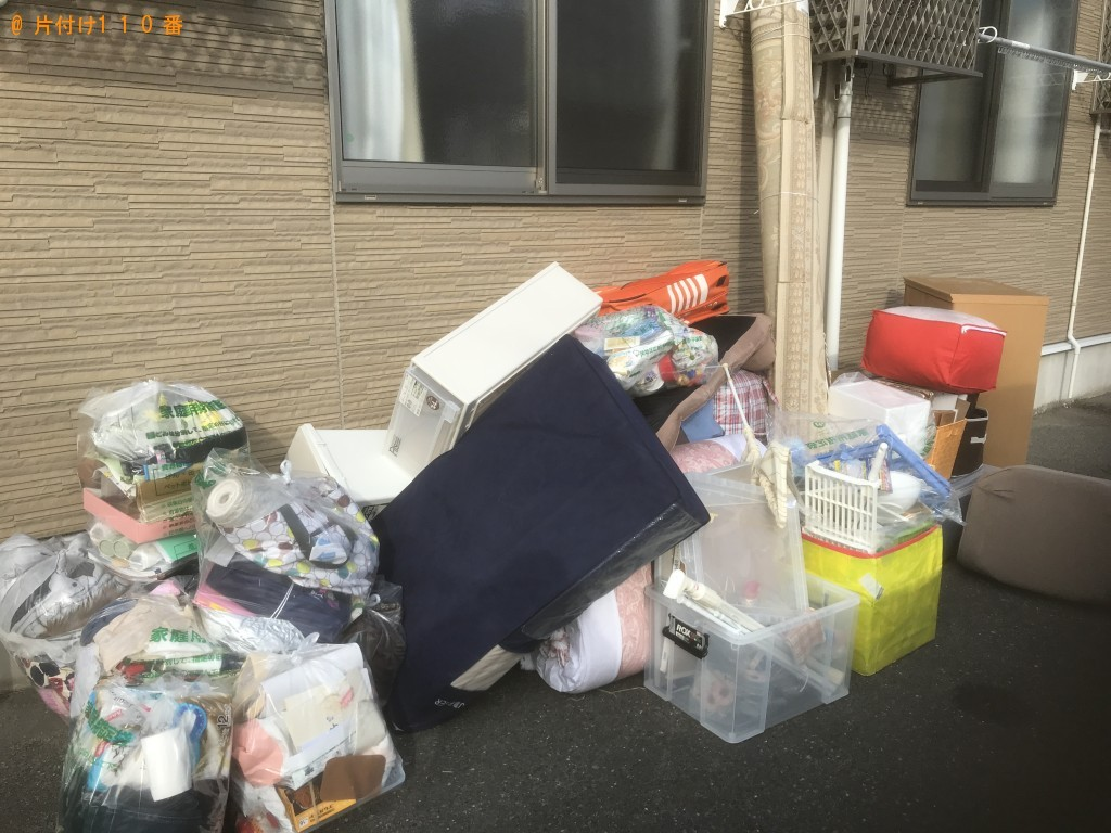 【一関市】ハンガーラック、プラスチックケース等の回収・処分ご依頼