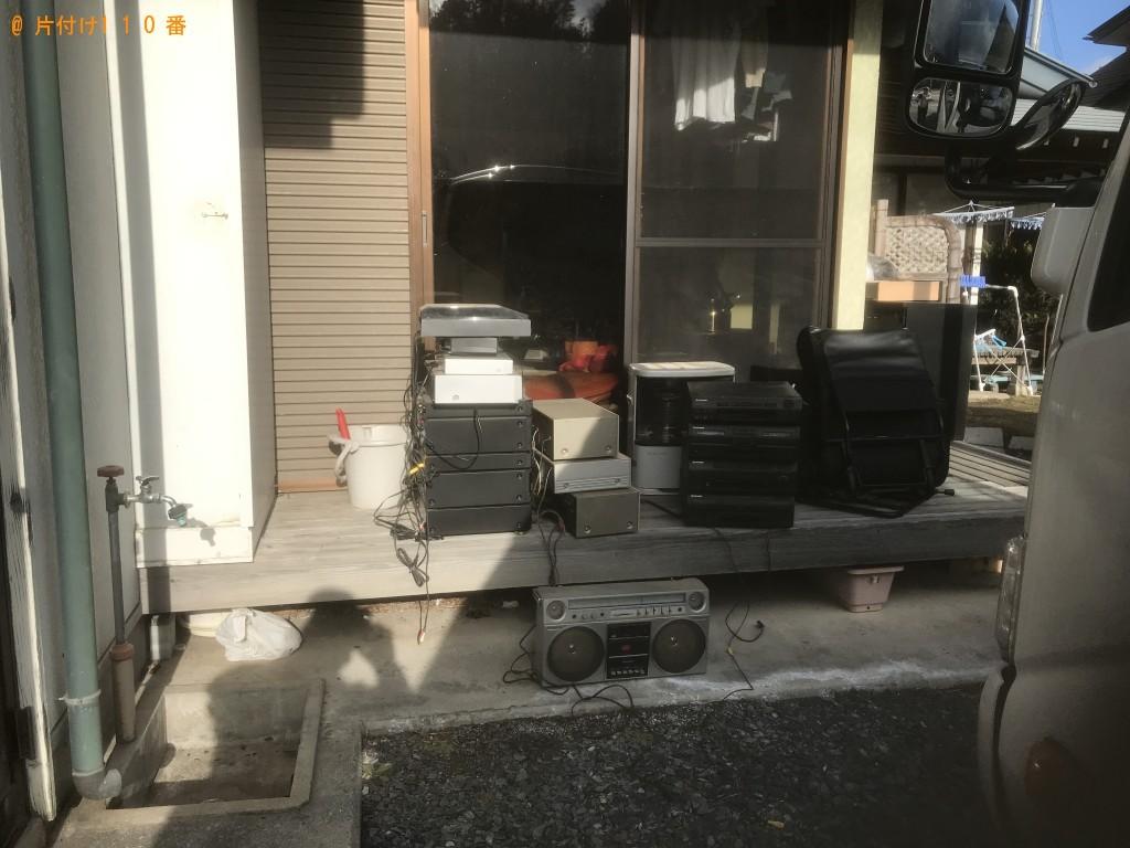 【一関市大東町】冷蔵庫、電子レンジ、整理タンス等の回収・処分