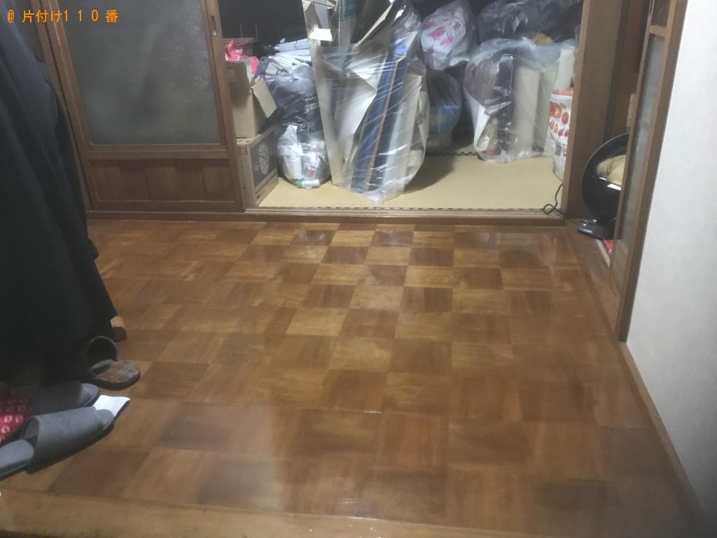 【一関市中央町】プリンター、電気ストーブ、整理タンス等の回収