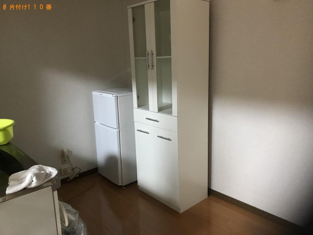 【一関市千厩町】洗濯機、食器棚、ハンガーラック等の回収・処分