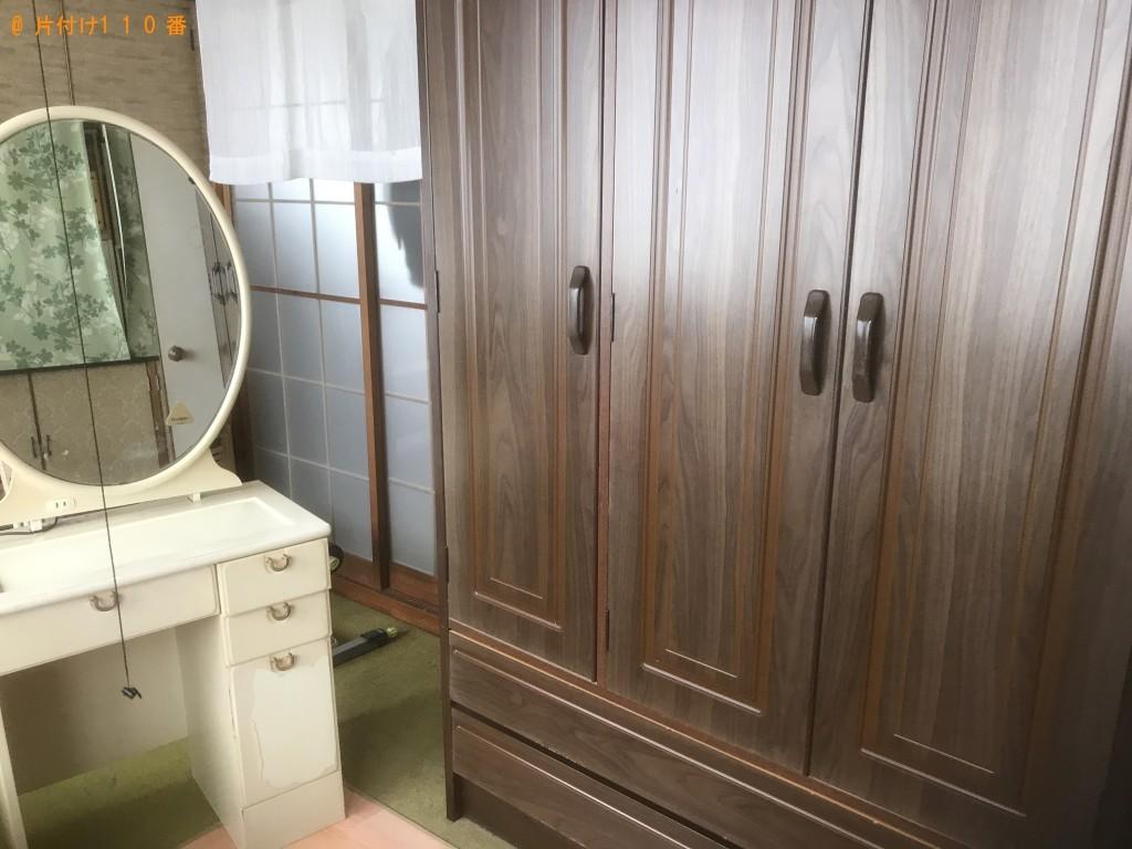 【山田町】整理タンス、ドレッサーと椅子の回収・処分ご依頼