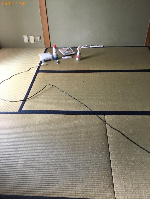 【一関市】シングルベッド、メタルラック、ダンボールの回収・処分