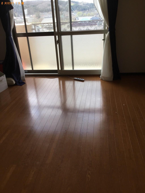 【一関市】タンス、食器棚、ソファー、セミダブルベッド等の回収