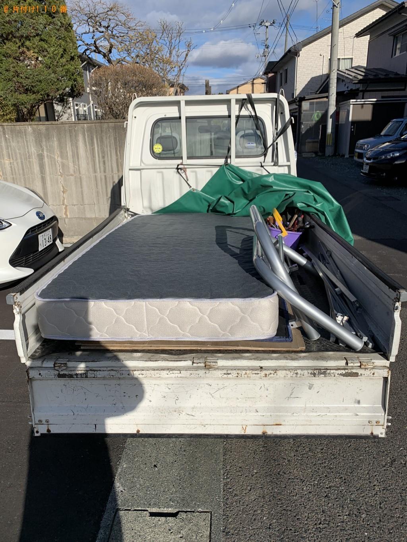 【北上市】シングルベッド、ベッドマットレスの回収・処分ご依頼