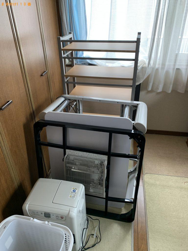【銚子市】食器棚、こたつ、レンジ台などの回収 お客様の声