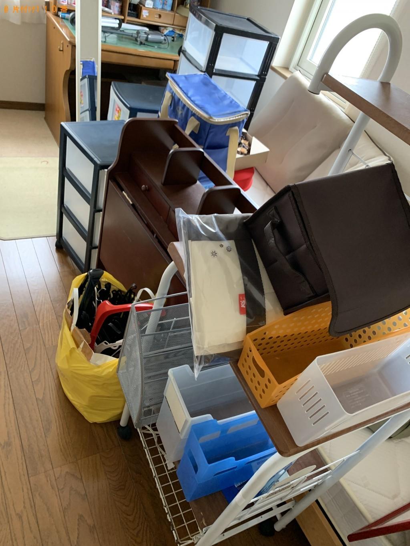 【北上市上野町】食器棚、こたつ、レンジ台などの回収 お客様の声