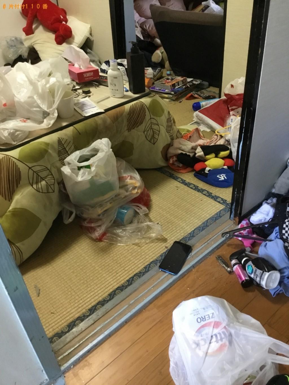 【奥州市】部屋の片付け作業と片付けで出たゴミの回収・処分ご依頼