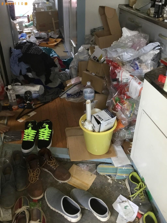 【奥州市】部屋の片付け作業と片付けで出るゴミの回収・処分ご依頼