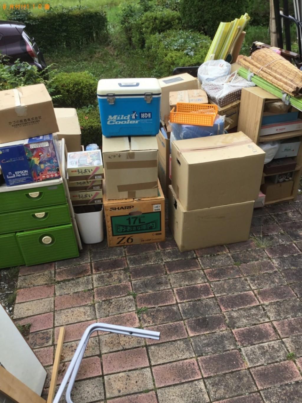 【一関市】テレビ、アイスボックス、収納棚等の回収・処分ご依頼