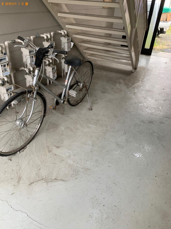 【北上市】エアロバイク、自転車、掃除機、本棚等の回収・処分ご依頼