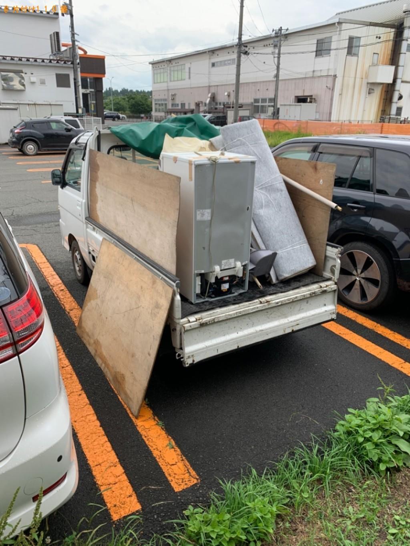 【北上市】遺品整理で冷蔵庫、観葉植物等の回収・処分ご依頼 お客様の声