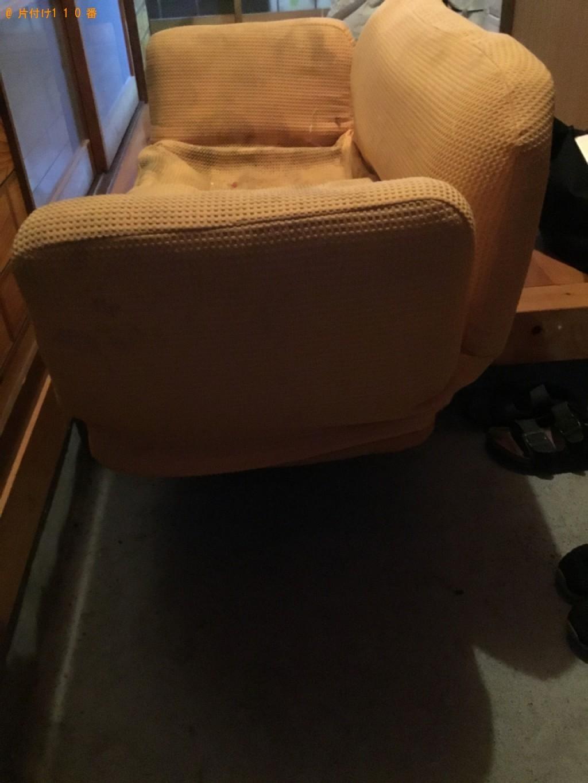【一関市藤沢町】二人掛けソファーの回収・処分ご依頼 お客様の声