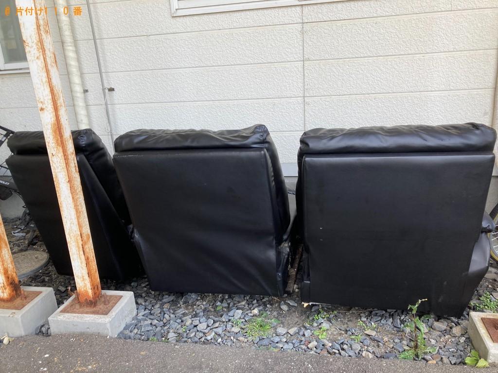 【一関市】二人掛けソファーの回収・処分ご依頼 お客様の声