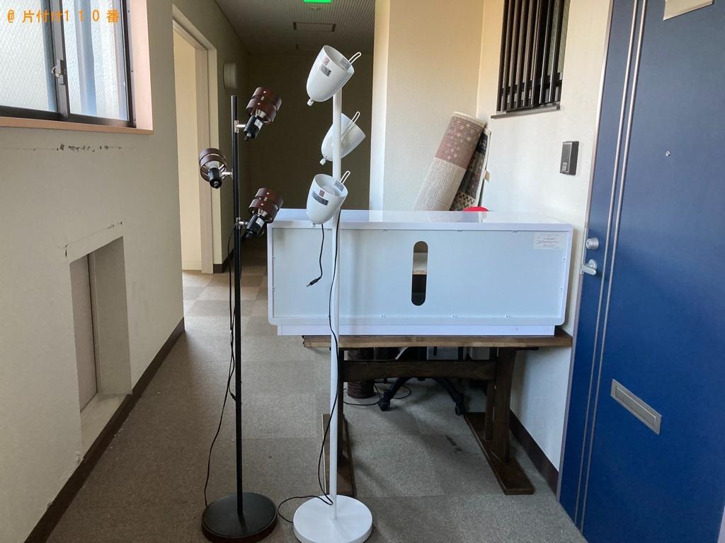【一関市】カーペット、こたつ、二人用ダイニングテーブル等の回収