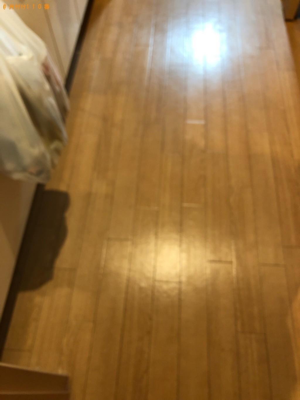 【盛岡市】ウレタンマットレス、シングルベッド、物干し竿等の回収