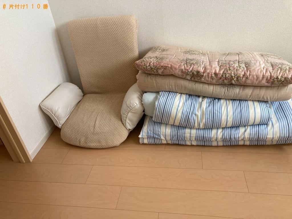 【一関市】冷蔵庫、洗濯機、布団、座椅子の回収・処分ご依頼
