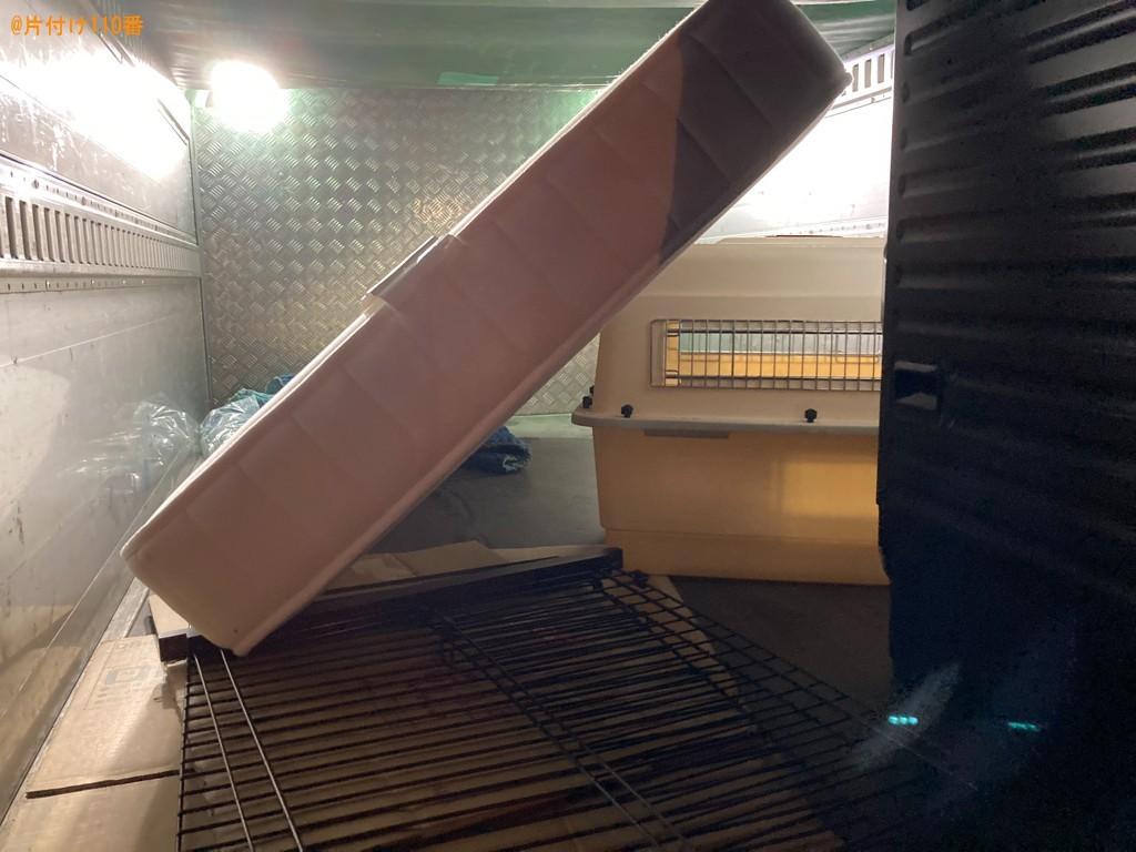 【一関市南新町】シングルベッドマットレス、洗濯機の回収・処分