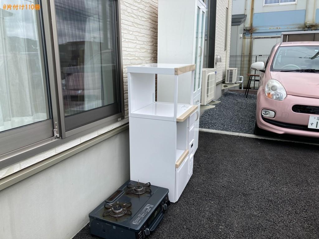 【一関市】食器棚、レンジ台、ガスコンロ等の回収・処分ご依頼