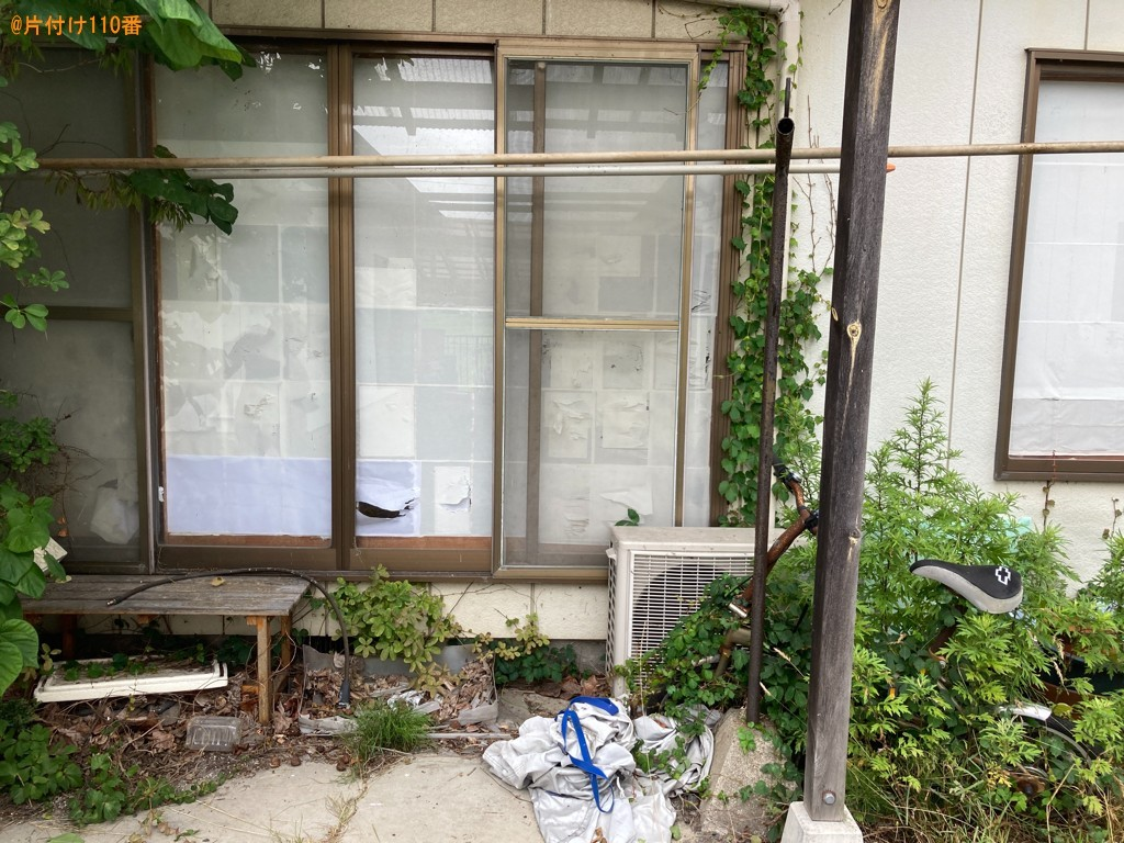【一関市】二人掛けソファー、物干し竿、物干し台等の回収・処分