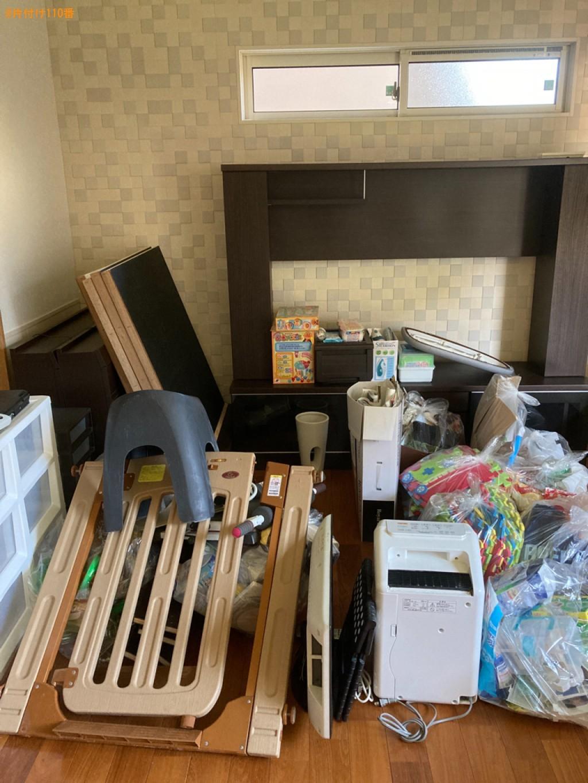 テレビ、パソコン、シングルベッド、ソファー、一般ごみ等の回収